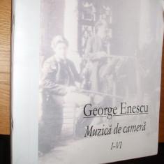 GEORGE ENESCU  -  Muzica de Camera *  I - VI ( 6  vol.) - Partituri
