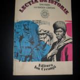 Lectia de istorie, Vitalie Munteanu - Carte educativa
