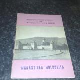 Manastirea Moldovita - monumente istorice - 1965 - Carte de aventura