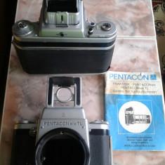 Vand aparat foto de colectie, PENTACON SIX TL, husa originala piele, stare functionare - Aparat de Colectie