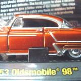 Macheta americana '53 OLDSMOBILE 98/scara 1/64/M2 MACHINES, Inc. ++2100 de LICITATII !! - Macheta auto