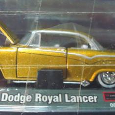 Macheta america '55 DODGE LANCER /scara 1/64/M2 MACHINES, Inc. ++2100 de LICITATII !! - Macheta auto