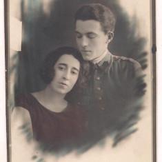 foto-Militar cu logodnica - anul 1925