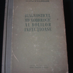 G. I SANAI, O. G. BIRGHER - DIAGNOSTICUL MICROBIOLOGIC AL BOLILOR INFECTIOASE