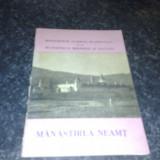 Manastirea Neamt - monumente istorice - 1965 - Carte de aventura