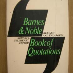 Barnes&Noble - Book of quotations (lb. engleza) Altele