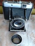 vand Aparat foto de colectie,CERTO SUPERSIX TEMPOR,CARL ZEISS JENA TESSAR 2.8/80cu burduf, anii 50,stare buna,vezi poze