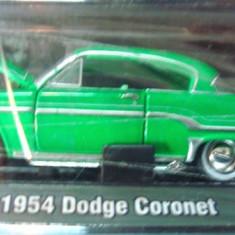Macheta americana '54 DODGE CORONET /scara 1/64/M2 MACHINES, Inc. ++2100 de LICITATII !! - Macheta auto