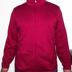 Bluza CRANE polar la interior hanorac pentru fete femei dama outdoor iarna - Hanorac dama, Marime: 44, Culoare: Violet
