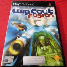 Joc Wipeout Fusion, PS2, original, alte sute de jocuri! - Jocuri PS2 Sony, Curse auto-moto, 3+, Single player