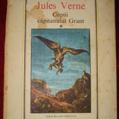 Jules Verne - Copiii capitanului Grant, 2 volume - Carte educativa