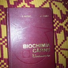 Biochimia carnii si a subproduselor-D.Motoc/C.Banu