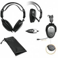 Casti MEDIA-TECH MT 3518, Casti On Ear, Cu fir, Mufa 3, 5mm