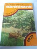 ALMANAHUL VANATORUL  SI PESCARUL SPORTIV , ANUL  1977 .