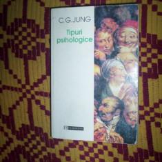 Jung - Tipuri psihologice - Carte Psihologie