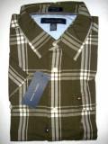Camasa originala Tommy Hilfiger maneca scurta - barbati L -100% AUTENTIC, Multicolor