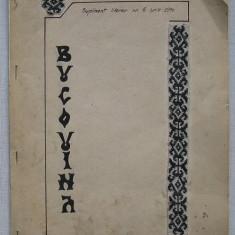Bucovina - Supliment Literar al Revistei-Magazin