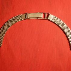 Bratara veche ceas dama, L= cca.15, 5 cm - Piese Ceas