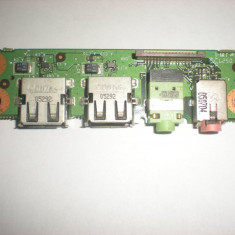 Modul mufe audio + usb laptop fujitsu amilo L1310G - Cabluri si conectori laptop Fujitsu Siemens, Cabluri audio