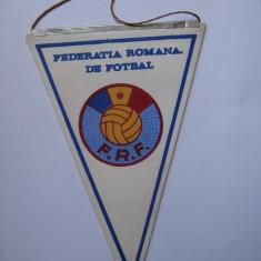 FANION COLECTIE F.R.F. DIN ANII 80 - Fanion fotbal