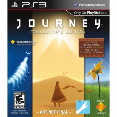 Journey Collectors Edition Game PS3 - Jocuri PS3 Sony, Actiune, Toate varstele, Single player