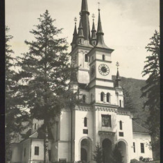 CARTE POSTALA*Orasul Stalin-BRASOV*Biserica St Nicolae din Schei - Carte Postala Transilvania dupa 1918, Circulata