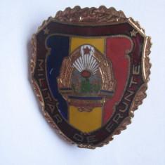 INSIGNA MILITAR DE FRUNTE R.S.R.