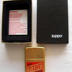 Zippo Marlboro EAT RIDE SLEEP - Bricheta Zippo, De buzunar