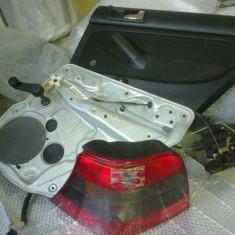 Vand panou usa, macara manuala pt geam cu suport, broasca pt inchidere centralizata, spoiler spate partea ingusta de jos, lampa spate - Inchidere centralizata Auto