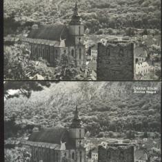 CARTE POSTALA*Orasul Stalin*BRASOV*Biserica Neagra - Carte Postala Transilvania dupa 1918