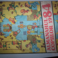 ALMANAHUL COPIILOR 1984 - Carte educativa
