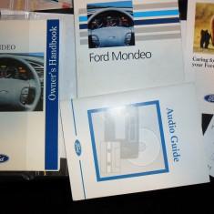 manual utilizare - carte tehnica auto - ford owners handbook - ford mondeo mk1 generatia I-a - toate motorizariile si caroserii - editia 1993