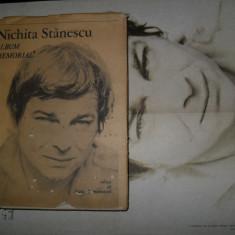 Nichita Stanescu-Album memorial(cuprinde si posterul) - Roman
