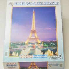 Puzzle Clementoni 3000 piese - Turnul Eifel - Franta - Paris - NOU - sigilat -