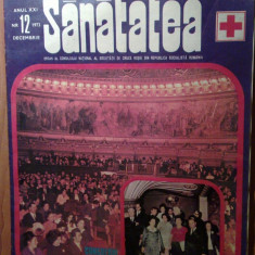 Revista sanatatea decembrie 1973 - Revista casa