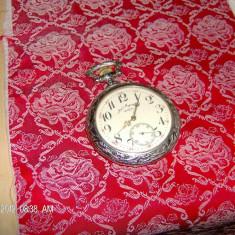 Ceas buzunar rococo alpaca DOXA - Ceas de buzunar