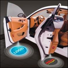 Lumini de usi LED CREE Holograma Logo Shadow Light BMW AUDI VW OPEL FORD etc - Logo Marca