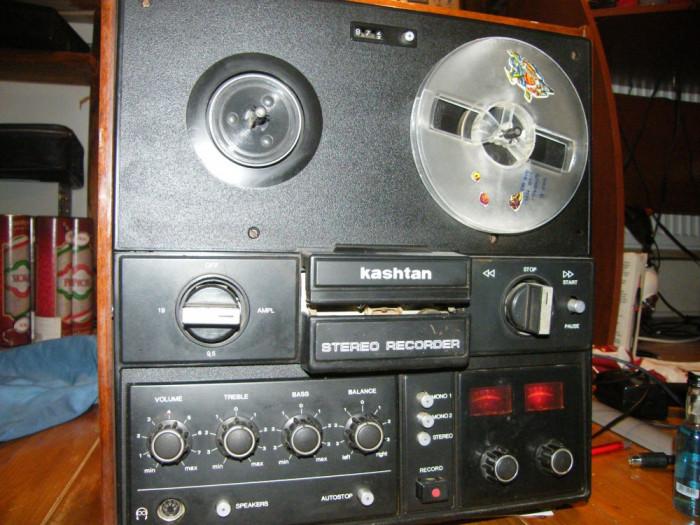 Magnetofon Kashtan foto mare