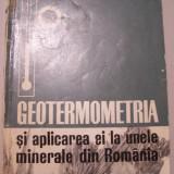 V.V.POMARLEANU - GEOTERMOMETRIA