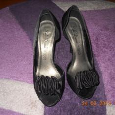 Pantofi dama Benvenuti, stare foarte buna, marimea 38 - Pantof dama Benvenuti, Culoare: Negru, Negru