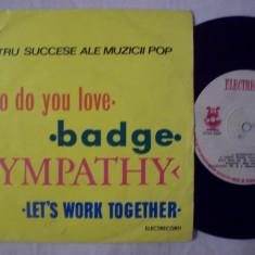 Disc vinil ( vinyl, pick-up ) PATRU SUCCESE ALE MUZICII POP ( format mic 45 - STM - EDC 10.317 ) - Muzica Dance electrecord
