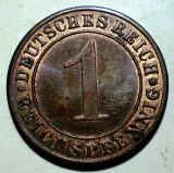 E.299 GERMANIA REICH 1 REICHSPFENNIG 1934 A XF, Europa, Bronz