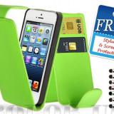 HUSA DE PROTECTIE IPHONE 5; 5G; NOU, SIGILAT, +MINI STYLUS+FOLIE DE PROTECTIE ECRAN - Husa Telefon Apple