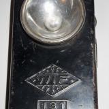 RARĂ! WIF 131 - LANTERNĂ MILITARĂ GERMANĂ CU LUPĂ, VECHE DIN WWII, EXCEPȚIONALĂ!