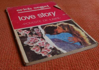 Erich Segal - Love Story- Poveste de iubire foto