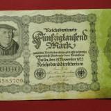 50000 MARCI - MARK 1922 - 19 NOIEMBRIE