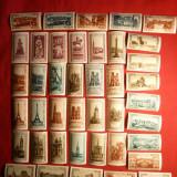 Colectie 77 Vignete Postale La Belle France si Jeanne D'Arc cca.1930