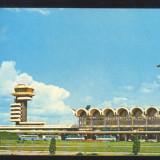 CARTE POSTALA*TAROM*Aeroportul International Bucuresti-Otopeni, Necirculata, Printata