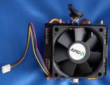 Cooler AMD Box cu 4 heatpipes impecab  AM2, Am3, Am3+ Fm1 Fm2 Fm2+ 4 pipes cupru