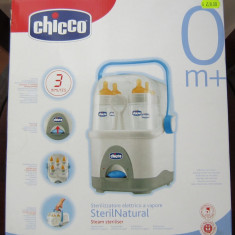 Chicco - Steril Natural pt. 5 biberoane, la cutie, ca nou